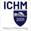 Logo of the International Commission for the History of Meteorology founded in 2001